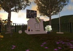 Memorial in Haean - Second Life